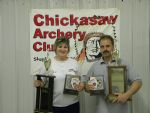 David & Cheryl Keith AMFS & AFFS Champions & overall High Male & Female Scores